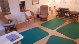 Praxisraum von Jürgen Simonis für Autogenes Training und Progressive Muskelentspannung