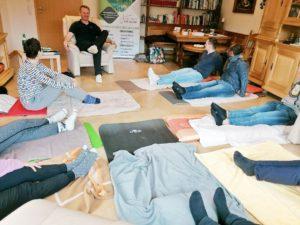 Praxisraum von Jürgen Simonis für Autogenes Training und Progressive Muskelentspannung in der Eifel